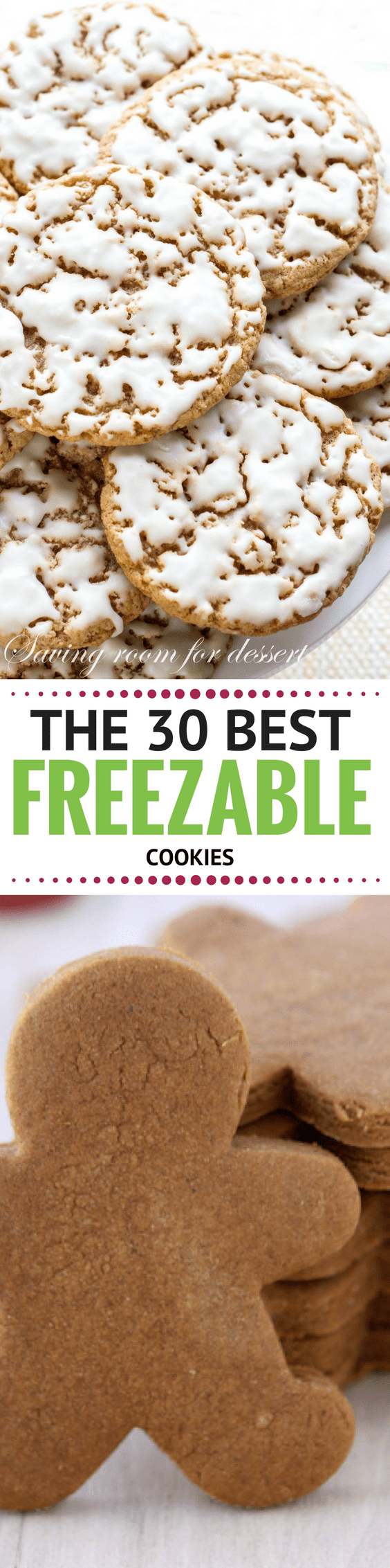 Ready...Set...Preheat! Here are the 30 BEST Freezable Cookies to get you set for the holidays in advance, yoohoo! These cookies are freezable, packable, giftable, and most importantly ~ IRRESISTIBLE! #holidaycookies #cookies #bestcookies #bestChristmascookies #christmascookes #recipe #freezercookies #easycookies #makeaheadcookies