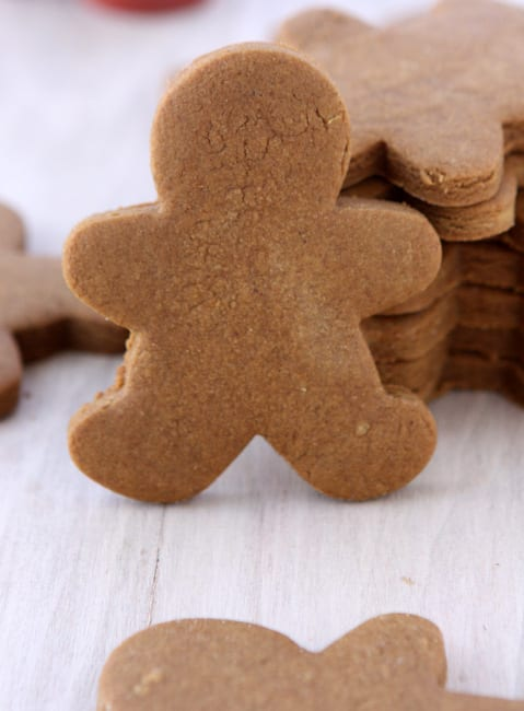 gingerbread cookies from The Kitchen Paper