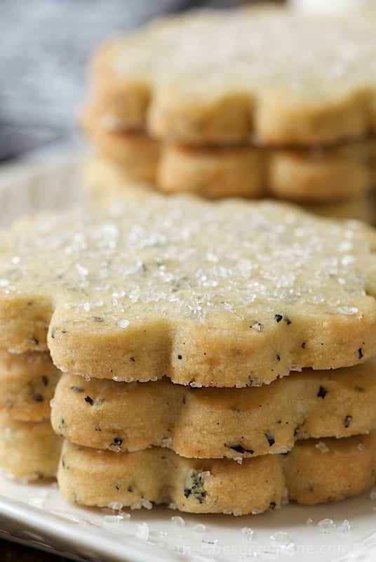 London Fog Shortbread Cookies from The Cafe Sucre Farine