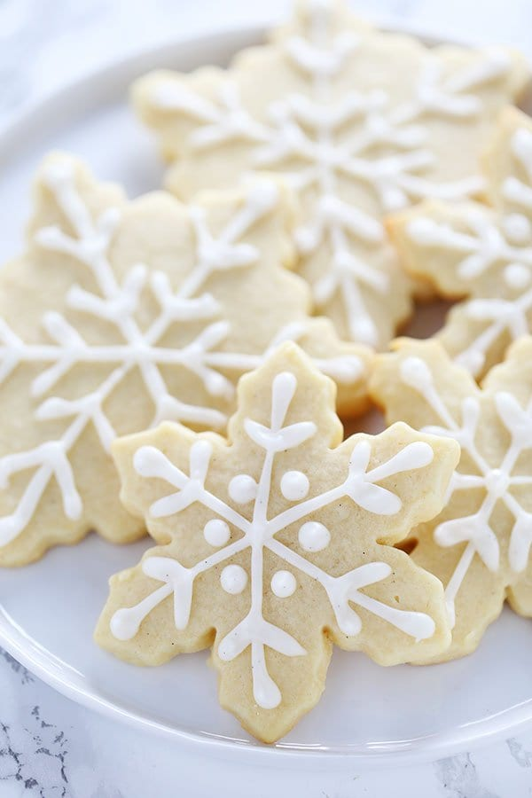 Snowflake Sugar Cookies from Handle the Heat
