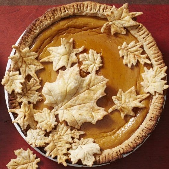 pumpkin pie from Allrecipes