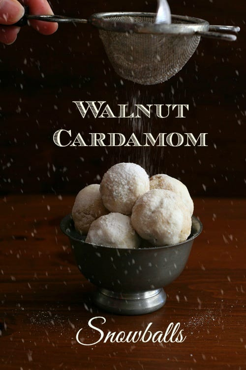 walnut cardamom snowballs from All Day I Dream About Food