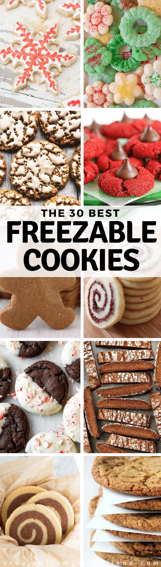 best freezable cookies pin