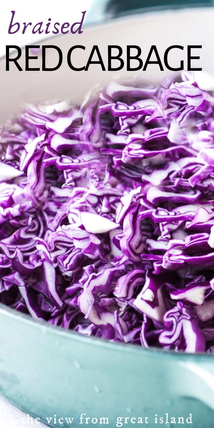 Braised Red Cabbage pin.