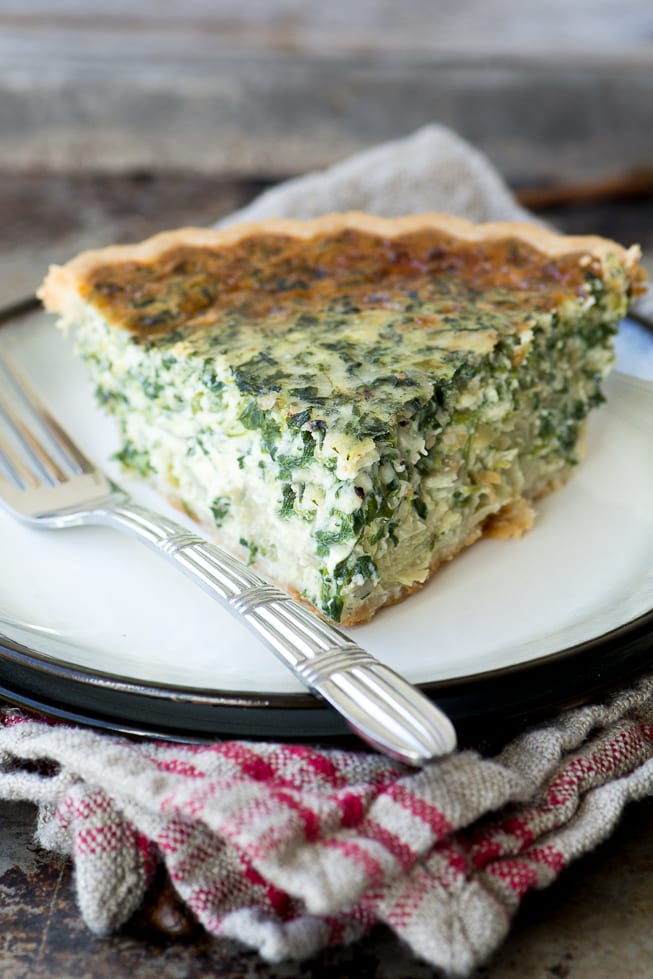 Spinach and artichoke quiche the view from great island spinach and artichoke quiche forumfinder Gallery
