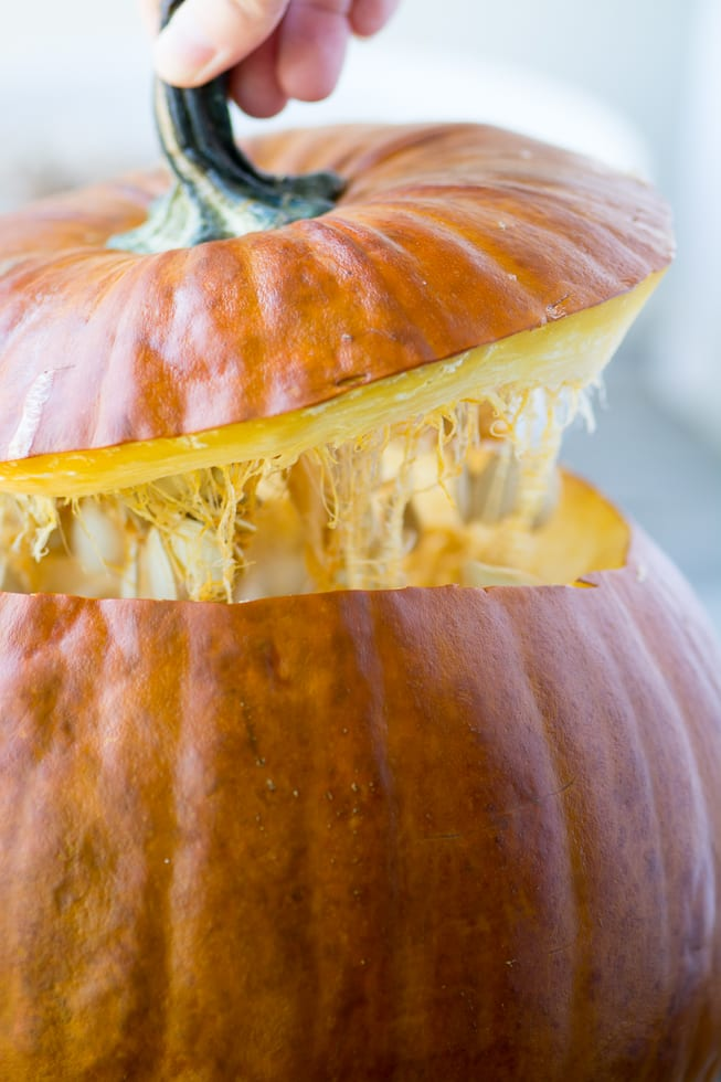 Making The Great Stuffed Pumpkin ~ theviewfromgreatisland.com