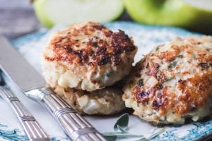 Homemade Chicken Apple Sausage ~ theviewfromgreatisland.com