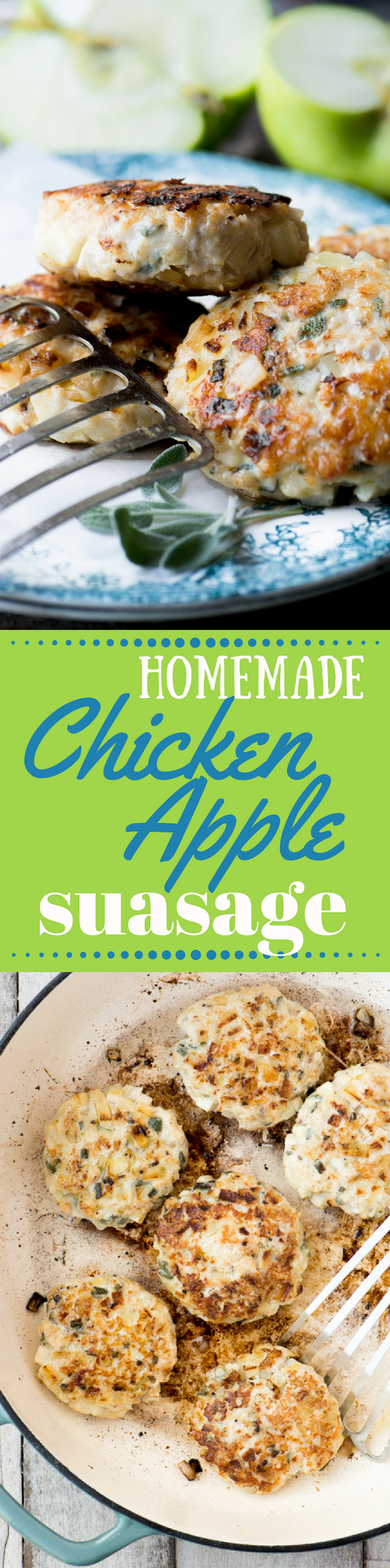 My Homemade Chicken Apple Sausage Recipe Is An Easy Way To Make Your Own  Fabulously Fresh