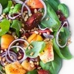 BASIL AND HEIRLOOM TOMATO SALAD ~ theviewfromgreatisland.com