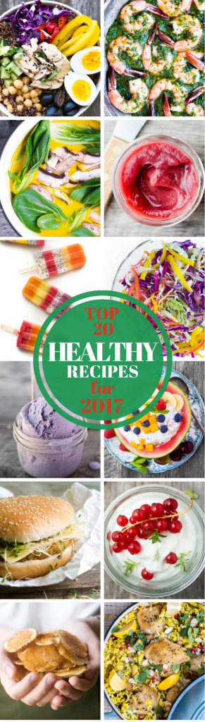 The Top 20 Best Healthy Recipes from TVFGI for 2017 ~ theviewfromgreatisland.com