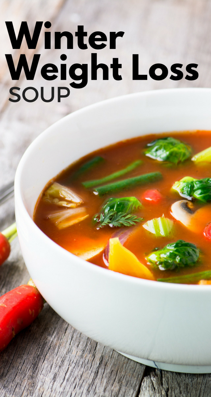 weight loss chicken vegetable soup