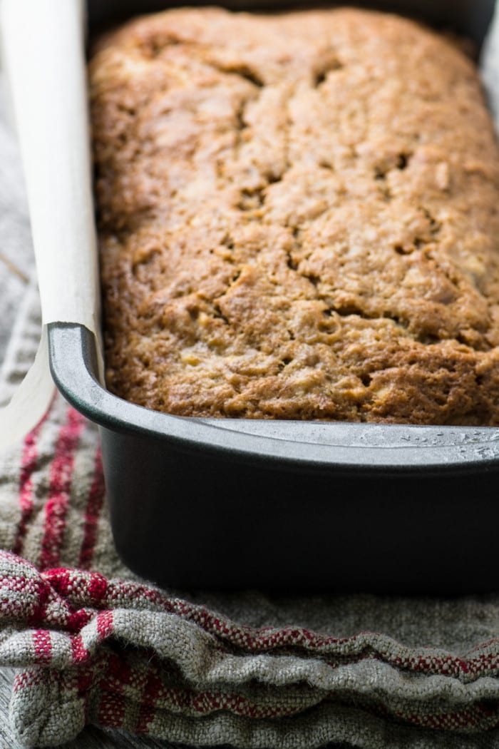 Quick Banana Walnut Bread ~ theviewfromgreatisland.com