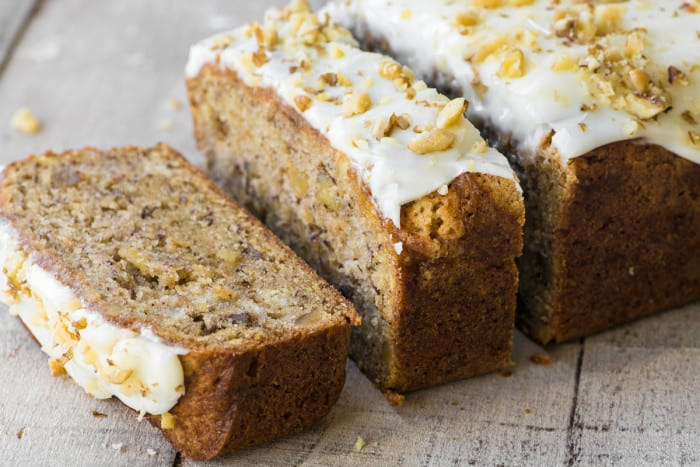 Better than Starbucks Banana Walnut Bread ~ theviewfromgreatisland.com