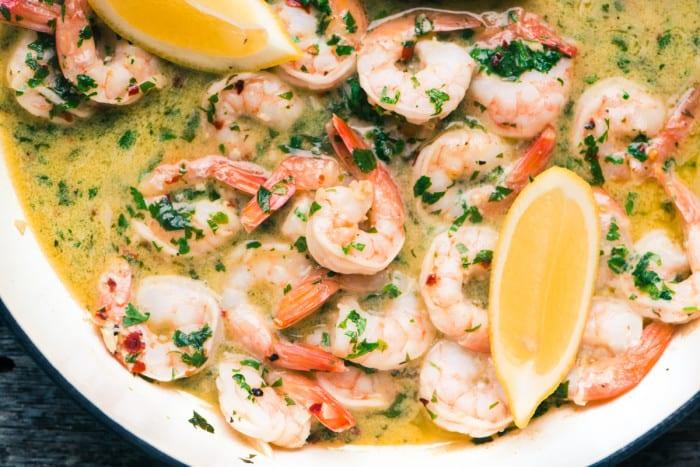 30 Minute Shrimp Scampi Fra Diavolo ~ theviewfromgreatisland.com