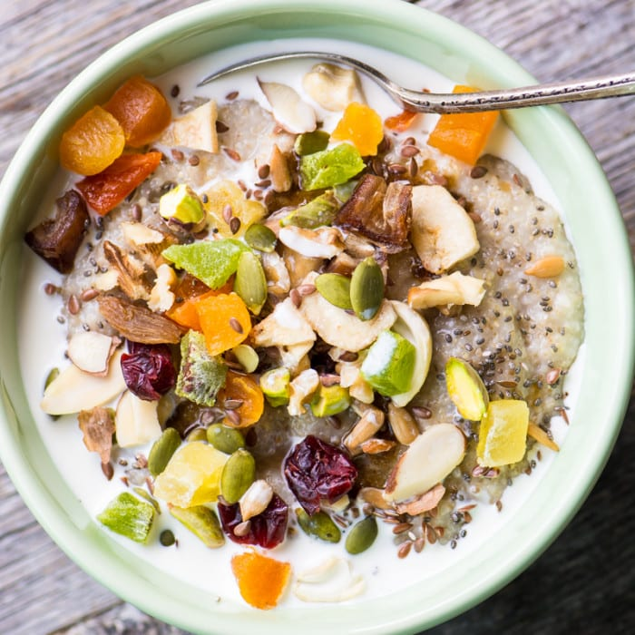 Oat Bran Power Bowl ~ theviewfromgreatisland.com