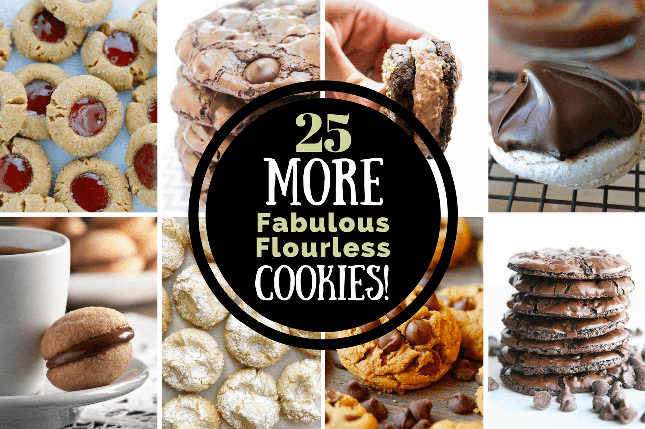 25 More Fabulous Flourless Cookies The View From Great Island