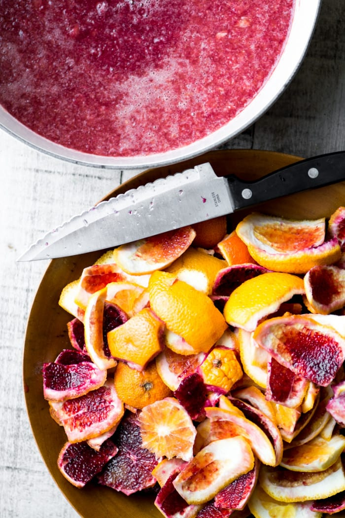 Blood Orange Jam ~ a fresh and vibrant citrus preserve ~ theviewfromgreatisland.com