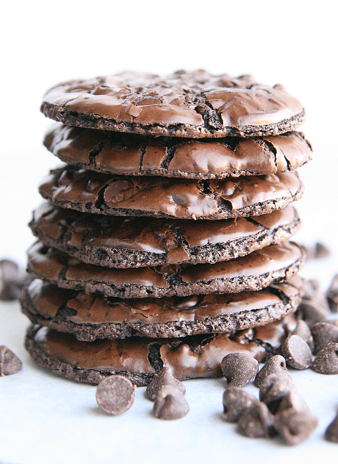 Flourless Mint Chocolate Cookies ~ 25 More Fabulous Flourless Cookies
