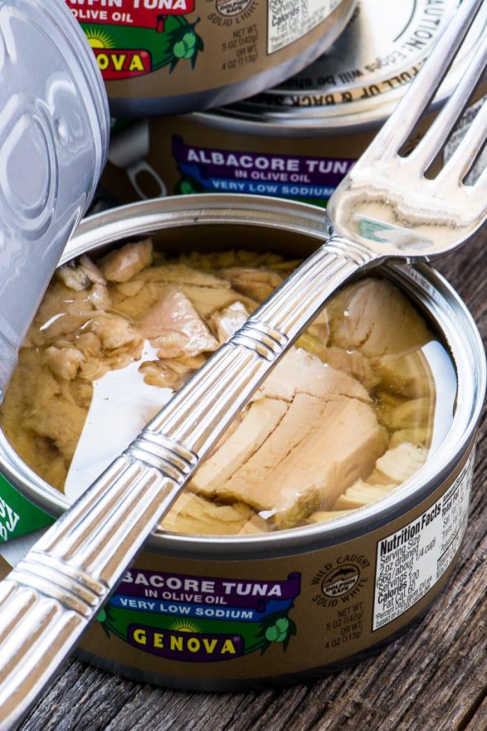 Genova Albacore Tuna for Nicoise Salad