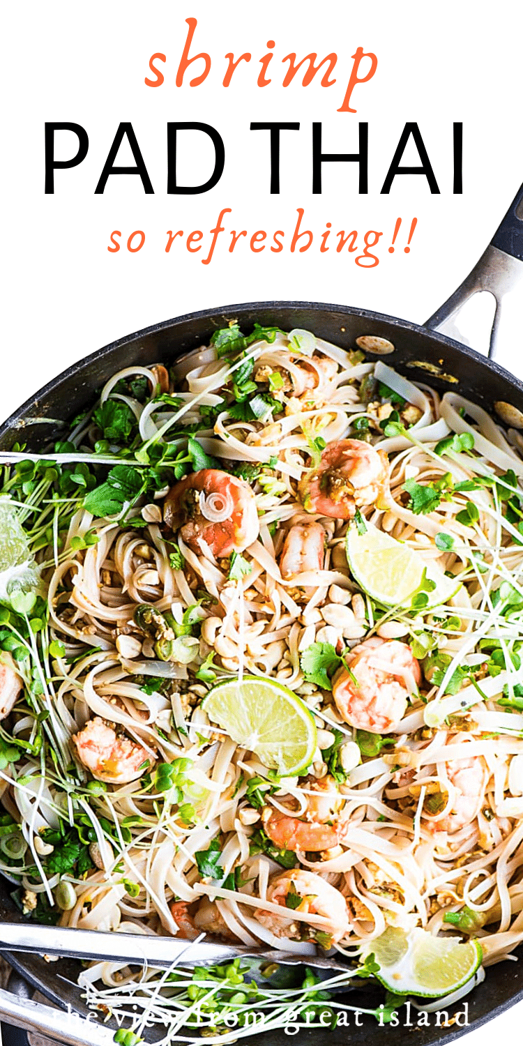 shrimp pad thai pin