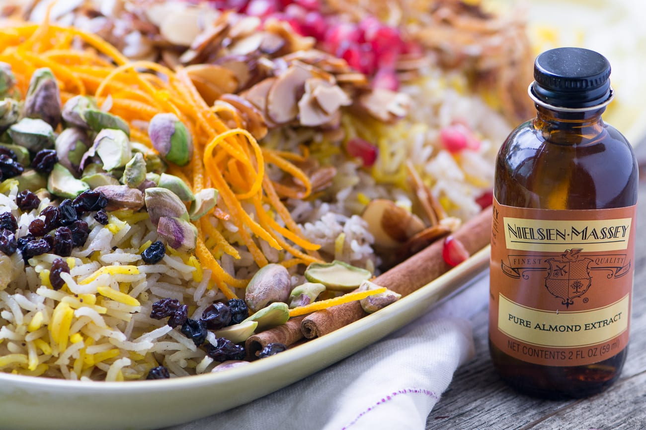 Fragrant Toasted Almond Rice Pilaf ~ a vegan and gluten free side dish for all your spring gatherings...