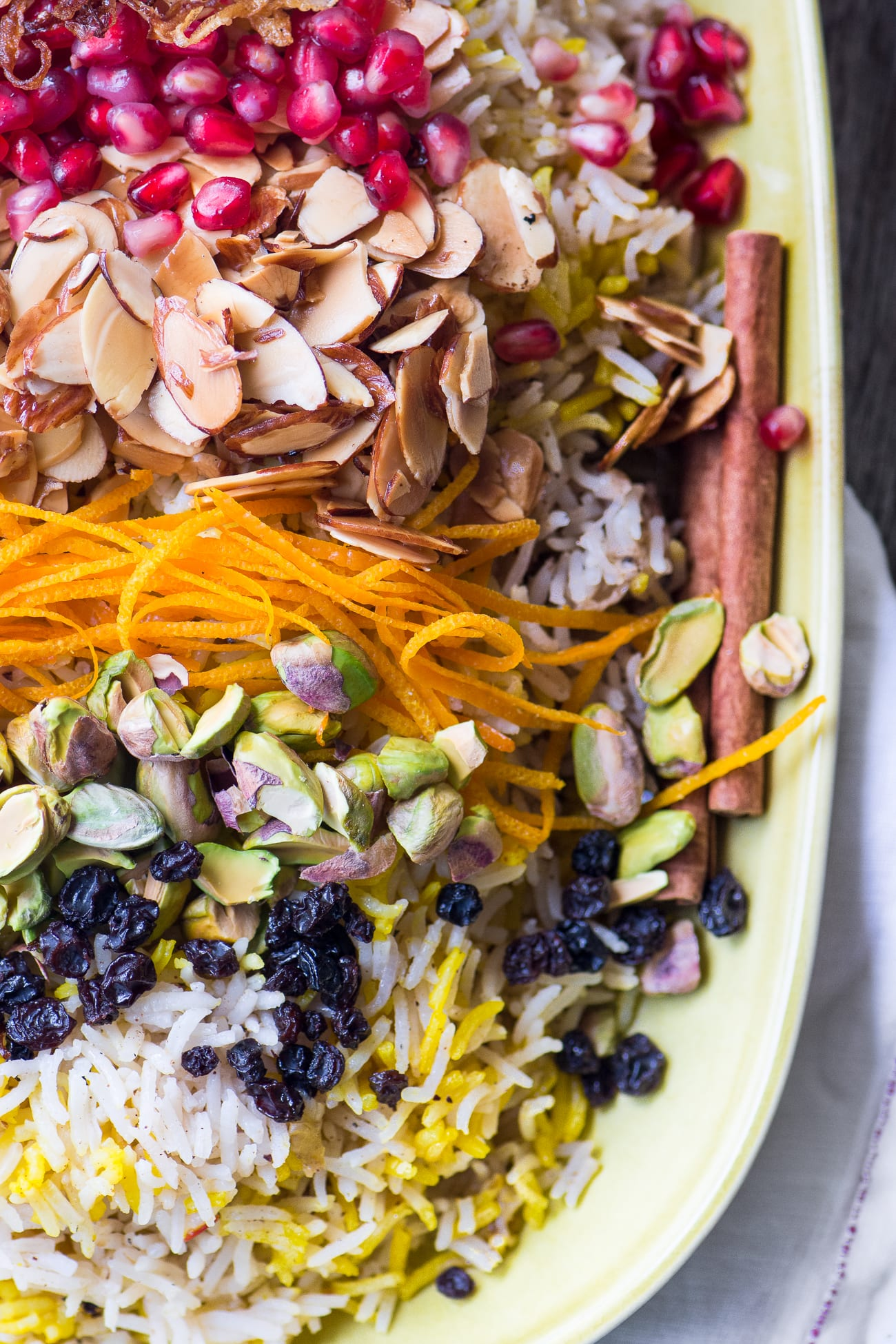 Fragrant Toasted Almond Rice Pilaf ~ it's beautiful and full of flavor, vegan, and gluten free, too!