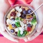 Broccoli and Blueberry Pasta Salad