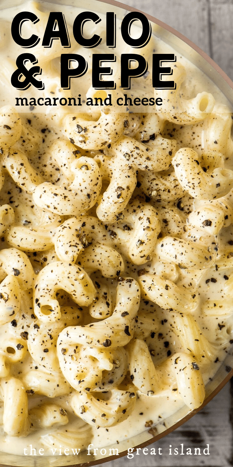 cacio e pepe macaroni and cheese