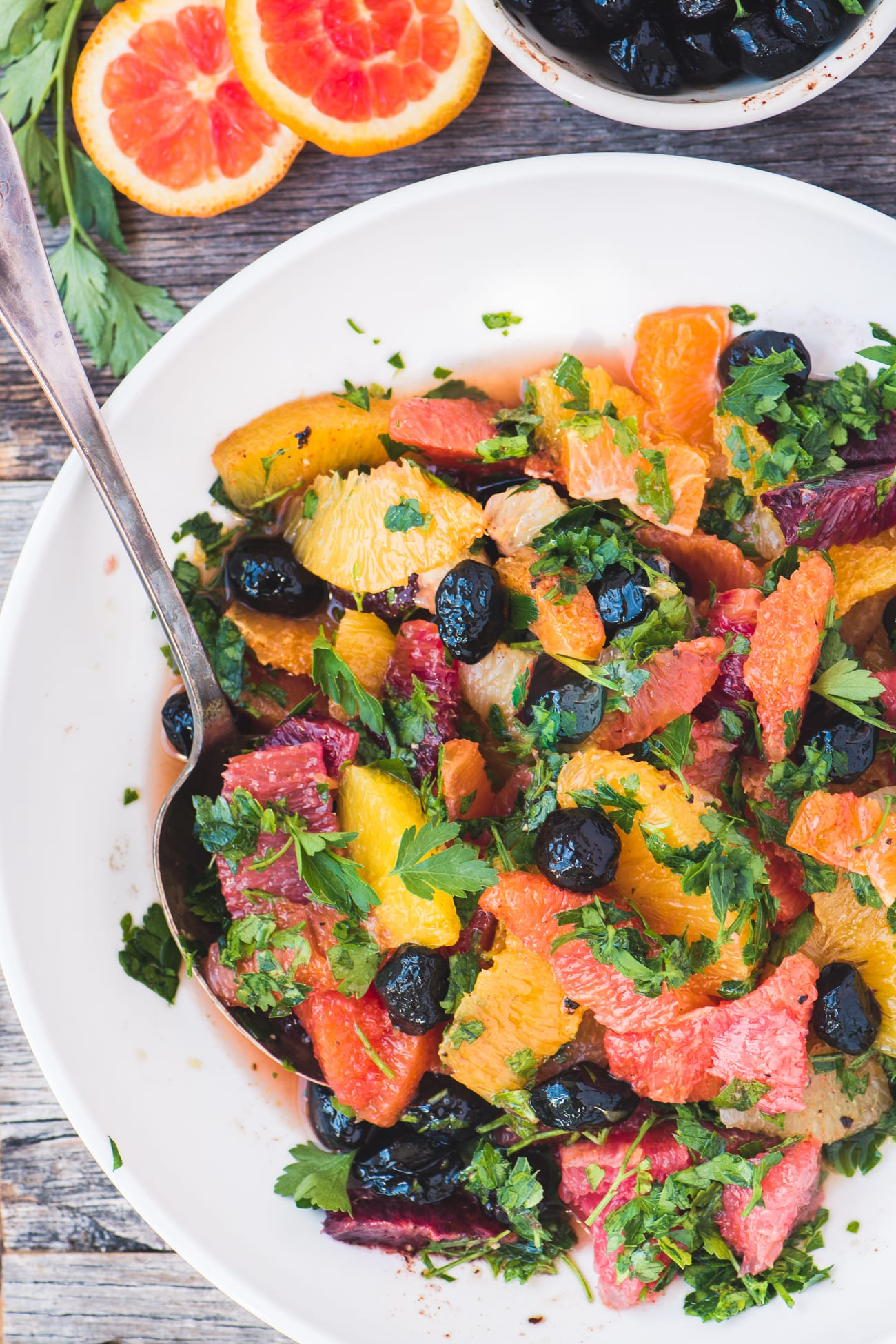 Spicy Mixed Citrus Salad