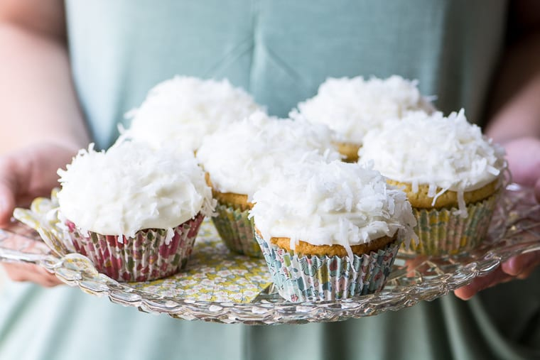 Ina Garten Cream Cheese Frosting ina garten's coconut cupcakes | the view from great island