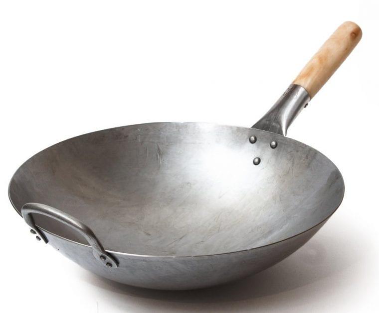 a steel wok