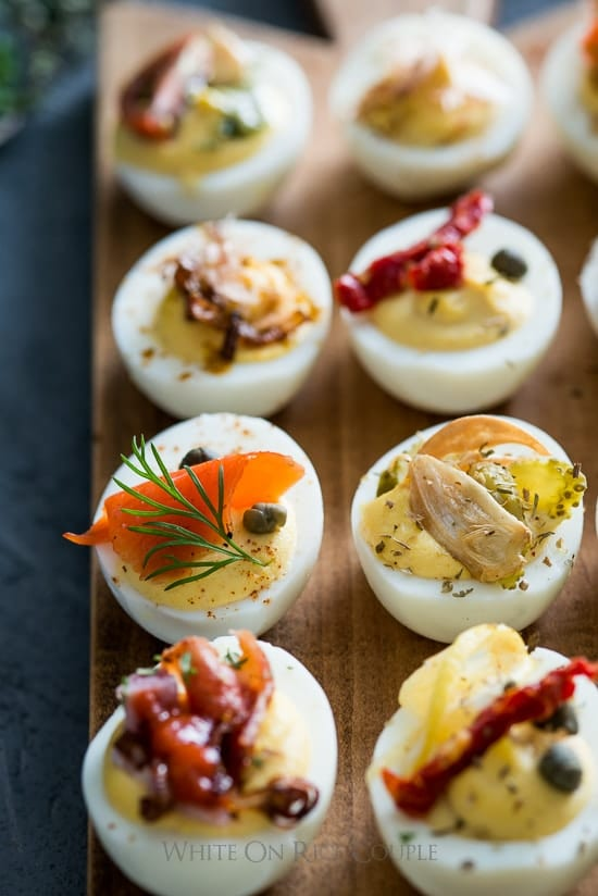 Deviled egg bar