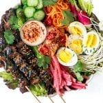 Korean Bulgogi Beef Salad