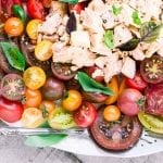 Summer Tomato and Tuna Salad