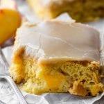 Brown Sugar Peach Cake