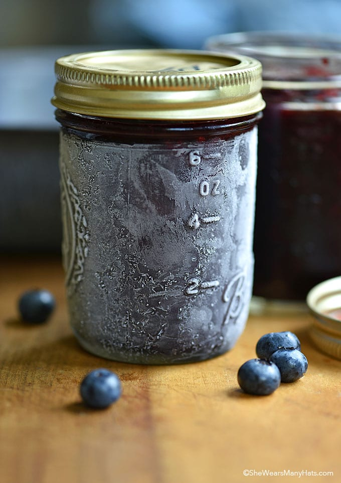 The ULTIMATE Guide to Freezer Jam ~ easy blueberry freezer jam