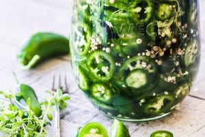 Quick Pickled Jalapeños ~ your pickles are ready in the time it takes you to slice your peppers, and you're going to want to load up on these, because jalapeños make everything better!
