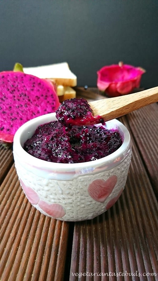 The ULTIMATE Guide to Freezer Jam ~ dragonfruit jam