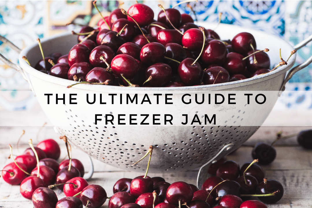 The ULTIMATE Guide to Freezer Jam ~ put away the big canning pot, the tongs, and all that pesky canning equipment, freezer jam is so much easier! Get your creative juices flowing with this collection of the world's best freezer jam recipes ~ I've organized them by season, so you'll never be without something wonderful to spread on your morning toast!