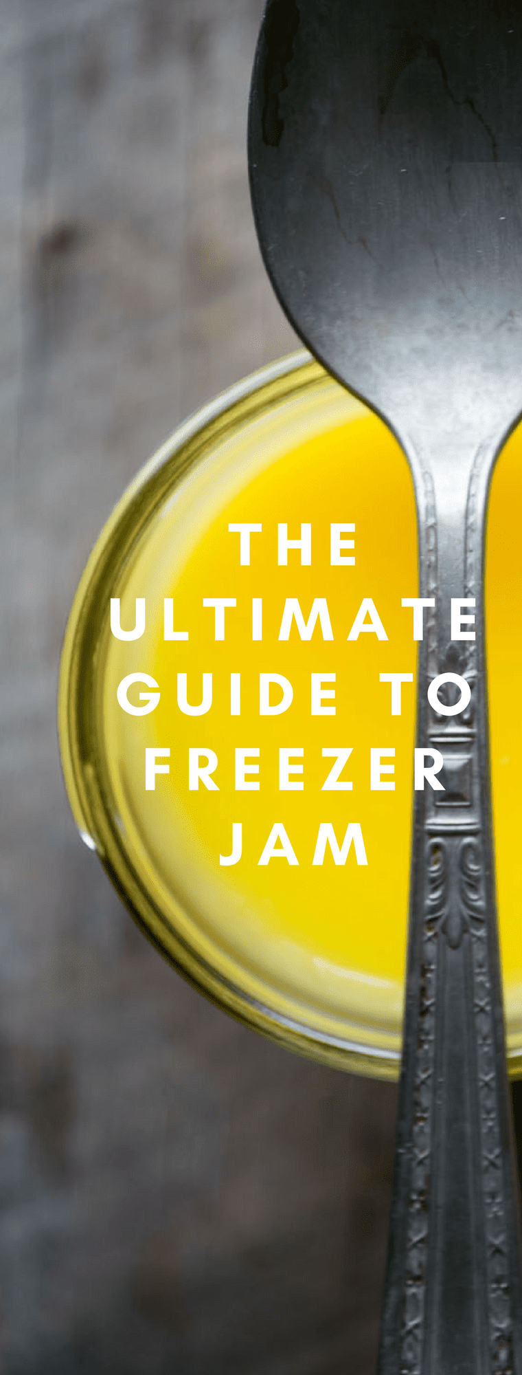THE ULTIMATE GUIDE TO FREEZER JAM ~ everything you need to create gorgeous, healthy, vibrant jams, jellies, marmalades and curds for every season of the year ~ no canning equipment needed! #preserves #smallbatchjam #refrigeratorjam #nocanjam #canning #breakfast