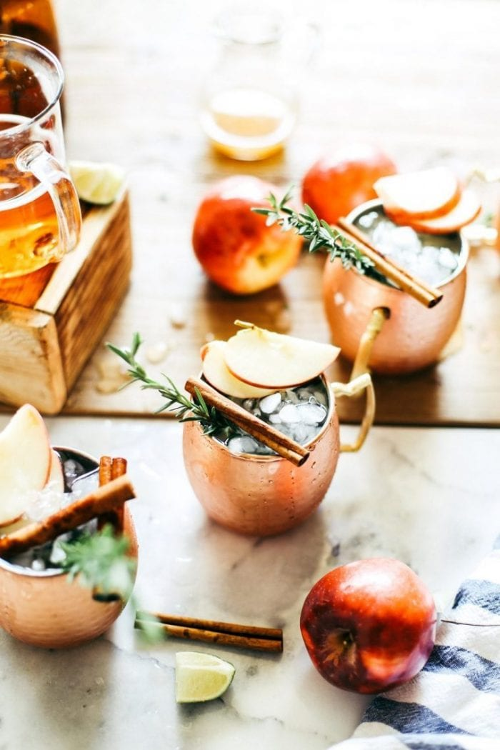 What to Drink Now ~ Fall cocktails are the BEST...think cranberry, maple, apple, pear, fig, pumpkin, woodsy herbs and smokey spices ~ check out this gorgeous Autumn inspired cocktail collection and get ready to discover your new favorite cozy sip...The College Housewife