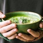Green Goddess Immune Boosting Soup