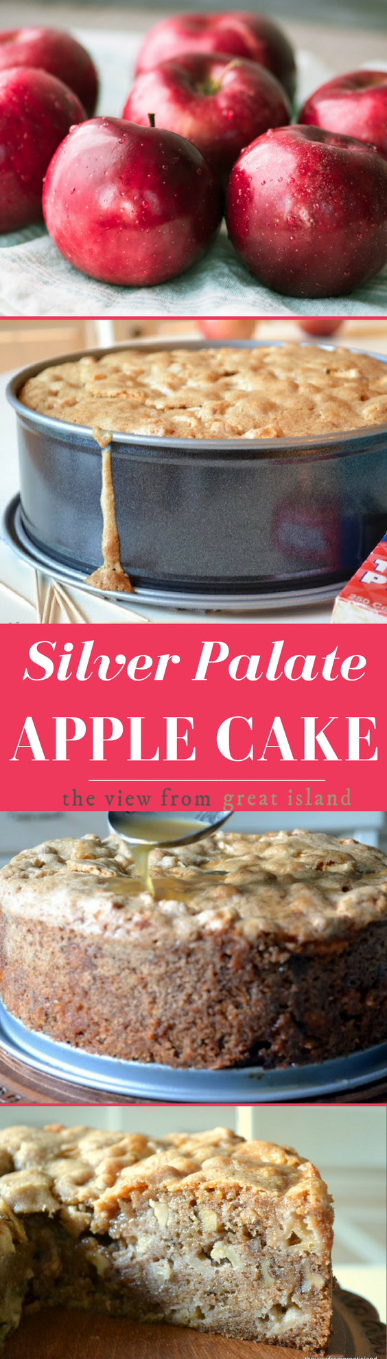 The Silver Palate Apple Cake, made famous in the 80s and has been a beloved fall dessert recipe ever since! #cake #apples #falldessert #dessert #Thesilverpalaterecipe