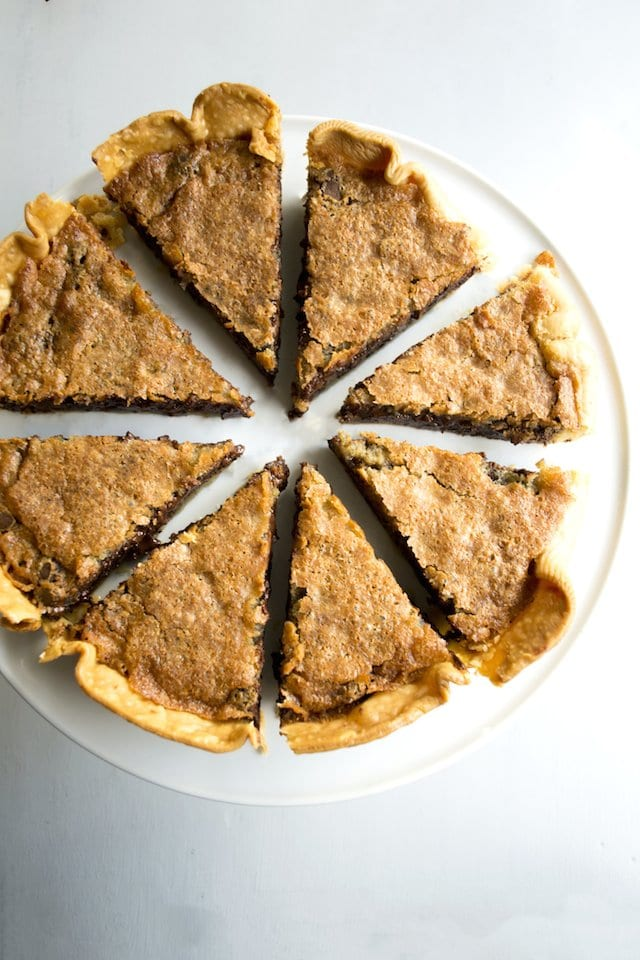 Bourbon Tollhouse Pie