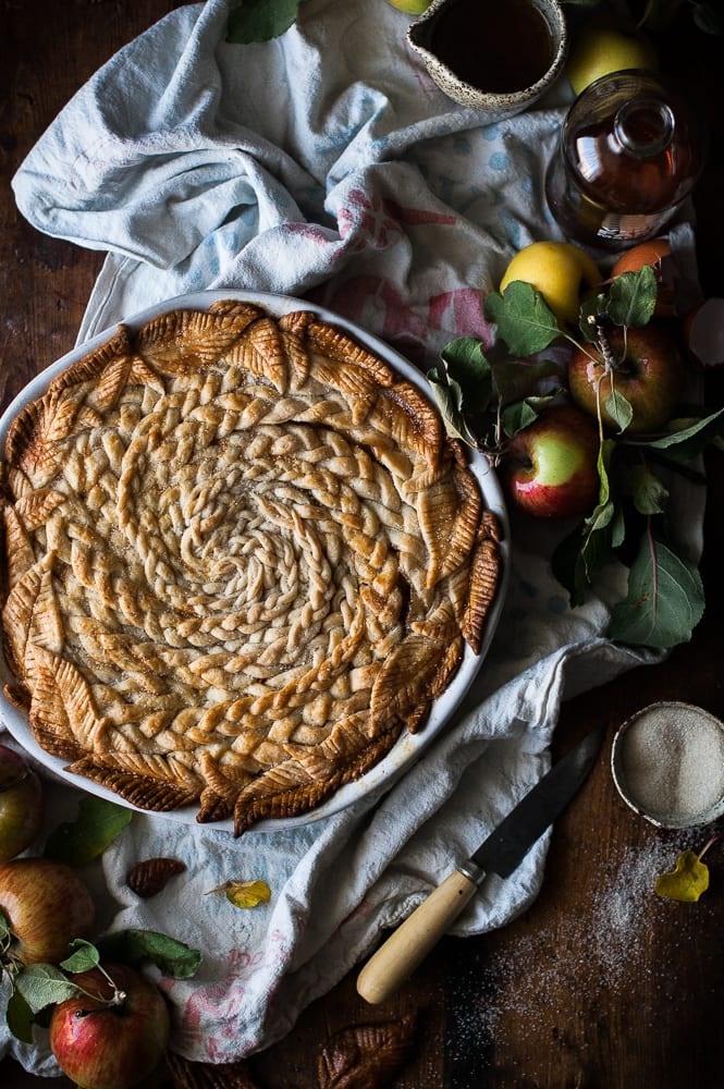 Maple Caramel Apple Pie