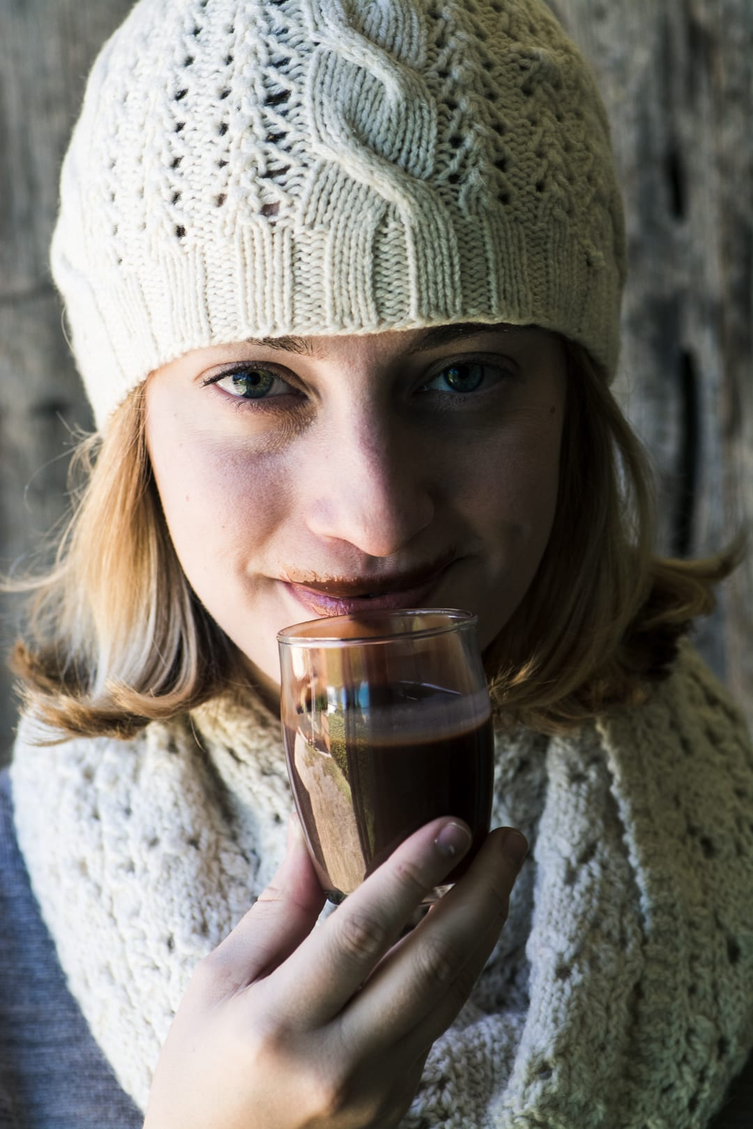 drinkable Nutella mustache!
