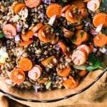 Rye and Carrot Salad