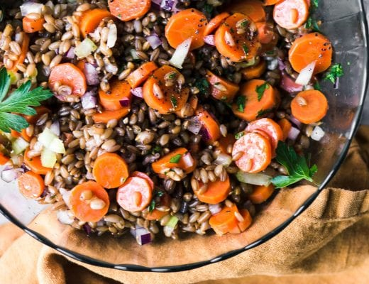 rye and carrot salad