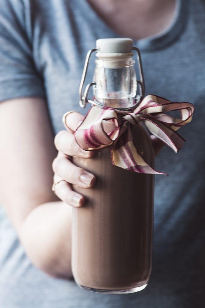 How to Make Homemade Nutella Liqueur