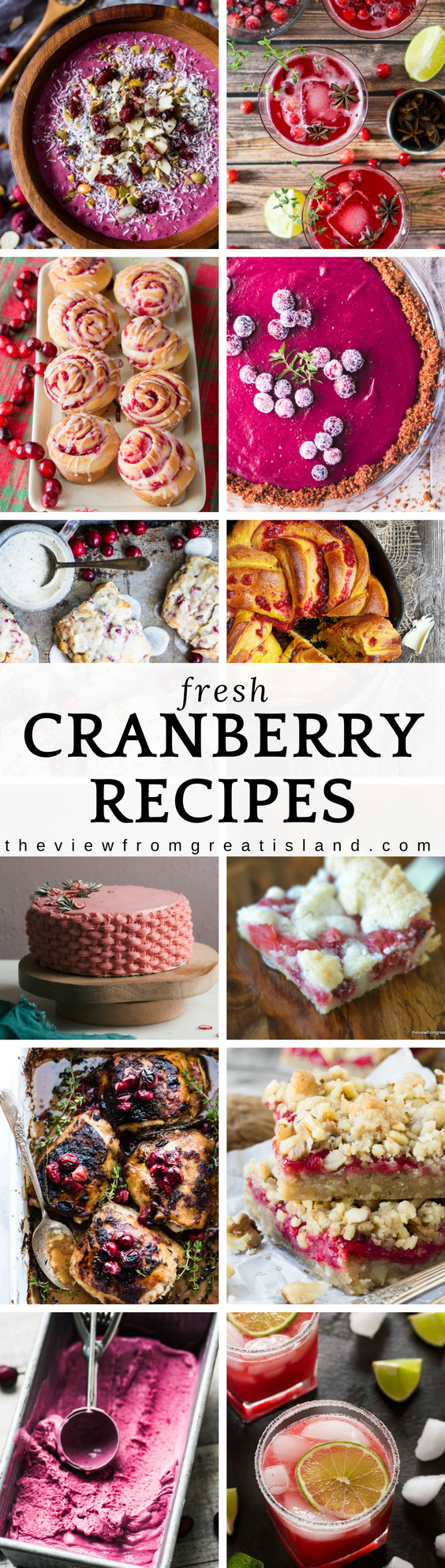 What to Eat Now: Fresh Cranberries ~ I've gathered the best fresh cranberry recipes to help you savor those tangy red berries before they disappear for another year. #cranberries #cranberryrecipes #Thanksgivingrecipes #cranberrysauce #cranberrycake #cranberrybread #cranberrycocktail #fall #cranberryjuice #cranberryrolls #cranberryjam #cranberryhotpepperjelly #cranberryscones #cranberrychicken #cranberrypotroast #cranberryicecresam #sugaredcranberries #roundup